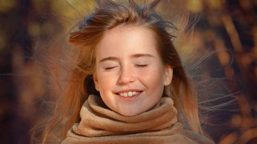 nature person girl autumn